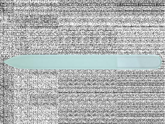 Bezbarwny szklany pilnik do paznokci