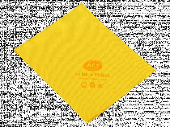 Czyścik do szyb z mikrowłókna 40 x 50 cm żółty - edycja jubileuszowa