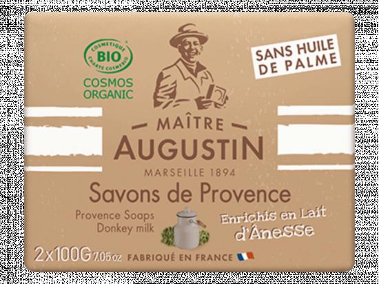 Mydło Marsylskie z oślim mlekiem (2 x 100 g)