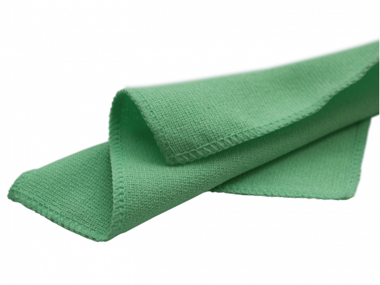 Czyścik do okularów z mikrowłókna zielony