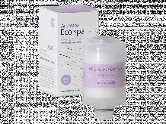 Aromaro ECO SPA filtr do słuchawki prysznicowej (zapach: lilac (bez))