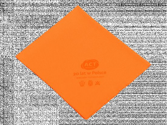 Czyścik do szyb z mikrowłókna 40 x 50 cm pomarańczowy - edycja jubileuszowa