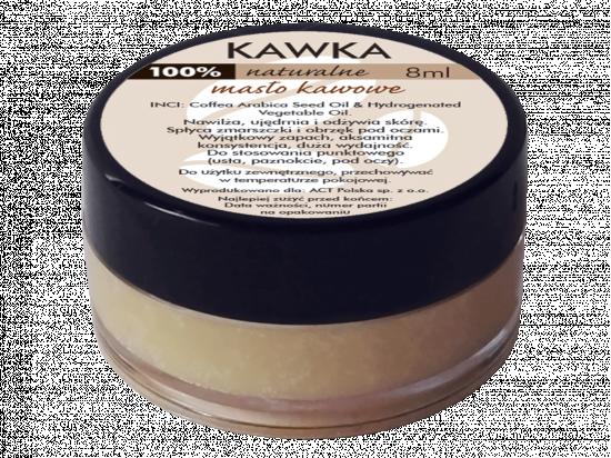 Naturalne masło kawowe 'Kawka' do pielęgnacji suchej skóry