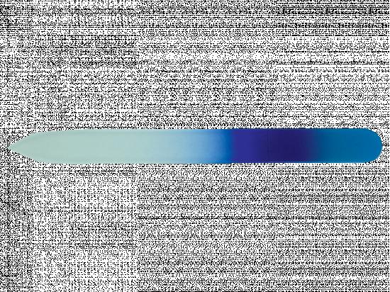 Kolorowy szklany pilnik do paznokci
