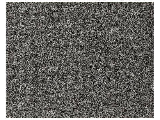 Mata wejściowa Cotton de Luxe szara 75 x 150 cm