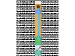 'Kręcik' do udrożniania odpływów 5pak kręcików