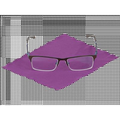 Czyścik do okularów z mikrowłókna fioletowy