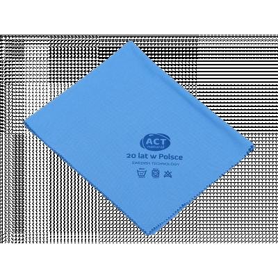Czyścik do szyb z mikrowłókna 40 x 50 cm niebieski - edycja jubileuszowa