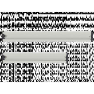 Aluminiowa szyna mocująca do wieszaków i haczyków 35 cm